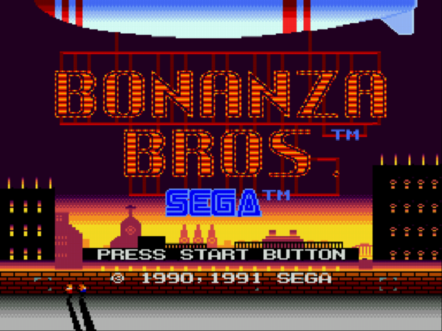 Bonanza Brothers - Introduction  - introduction - User Screenshot