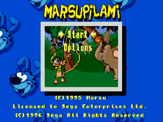 Marsupilami - Introduction  - introduction - User Screenshot