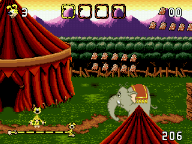 Marsupilami - Level  -  level 1-circus - User Screenshot