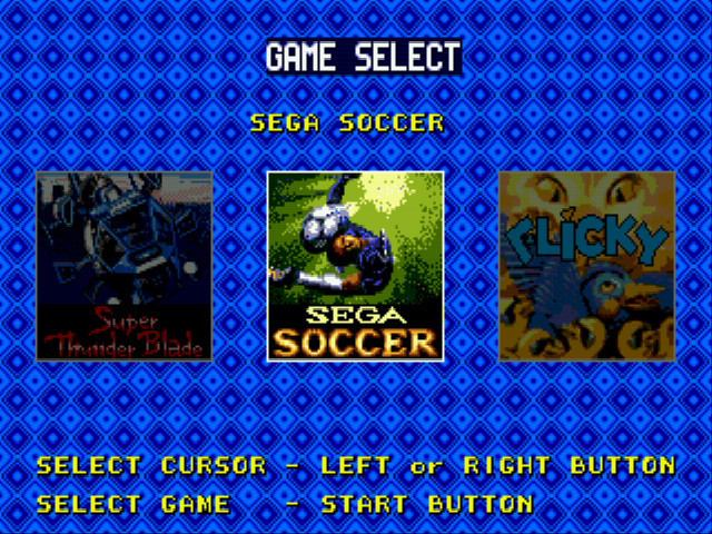Sega S Games