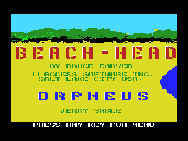 Beach-Head - Introduction  -  introduction - User Screenshot