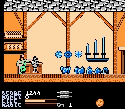 Ironsword - Wizards & Warriors II - Misc  -  no browsing allowed in this store - User Screenshot
