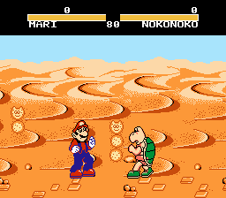 Kart Fighter - Misc  -  mario vs nokonoko - User Screenshot