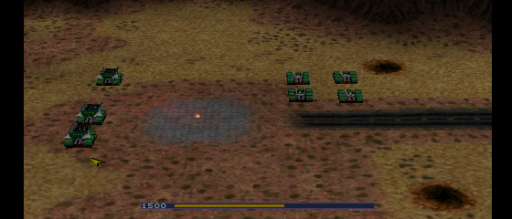 Warzone 2100 - Level  - second screenshot of level 1 - User Screenshot