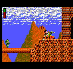 Rastan - Location  -  reaching a castle - User Screenshot