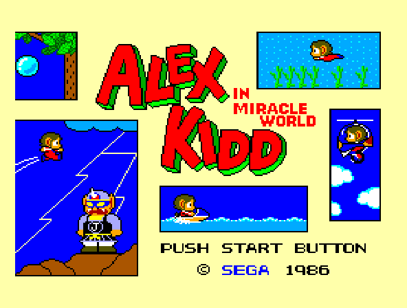 Alex Kidd in Miracle World - Introduction  -  introduction - User Screenshot