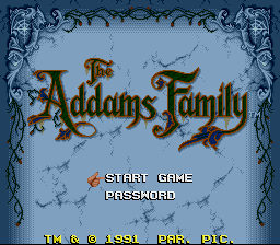 The Addams Family - Introduction  -  introduction - User Screenshot