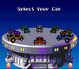 Battle Cars - Character Profile  -  car select  menu - User Screenshot