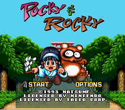 Pocky & Rocky - Introduction  - introduction - User Screenshot
