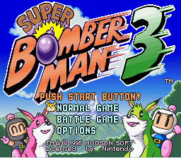 Super Bomberman 3 - Introduction  -  introduction - User Screenshot