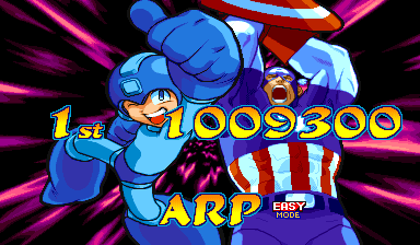 Marvel Vs. Capcom: Clash of Super Heroes (Euro 980123) - Ending  - Its over 1 million! - User Screenshot