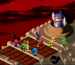 Super Mario RPG - Legend of the Seven Stars - Axem Rangers & Blade - User Screenshot