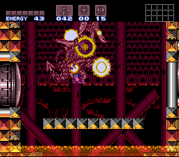 Super Metroid - Boss Rush Mode - Ridley, Down - User Screenshot