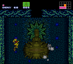 Super Metroid - Boss Rush Mode - Second Boss, Down - User Screenshot