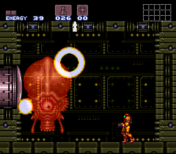 Super Metroid - Boss Rush Mode - Phantoon, Down - User Screenshot