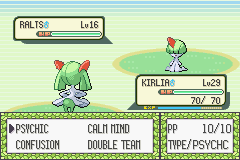 Pokemon Emerald - Battle  - I wonder who will win. - User Screenshot