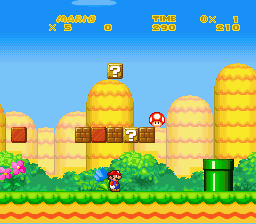 New Retro Mario Bros - back to the start :D - User Screenshot