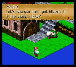 Super Mario RPG - Legend of the Seven Stars - NO - User Screenshot