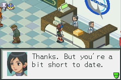 Megaman Battle Network 2 - Miscellaneous  - who said anything about dating.. - User Screenshot