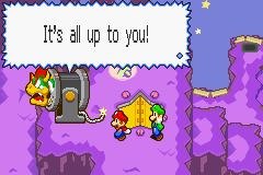 Mario & Luigi - Superstar Saga - You never helped anyway!! - User Screenshot