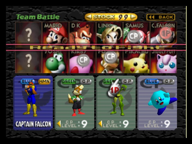 Super Smash Bros. - Character Select  - This will be a long battle... - User Screenshot