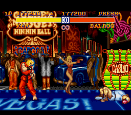 Street Fighter II - The World Warrior - Level  - Perfected balrog! - User Screenshot
