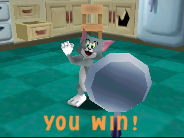 Tom and Jerry in Fists of Furry - get out of my way! - User Screenshot