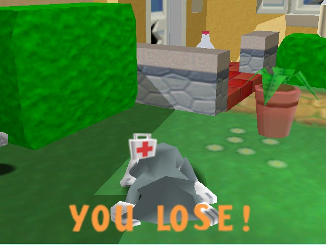 Tom and Jerry in Fists of Furry - pooped a box - User Screenshot