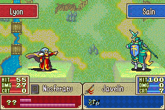 Fire Emblem - Sacred Contention - Oh no!Lyon gonna steal his health - User Screenshot