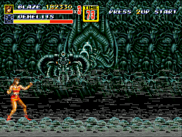 Streets of Rage 2 - Dafaq is this this thing O_O - User Screenshot