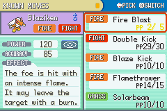 Pokemon - Yet Another Fire Red Hack - solar beam really - User Screenshot