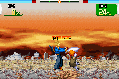 Dragon Ball Z - Supersonic Warriors - IN YO FACE :p - User Screenshot
