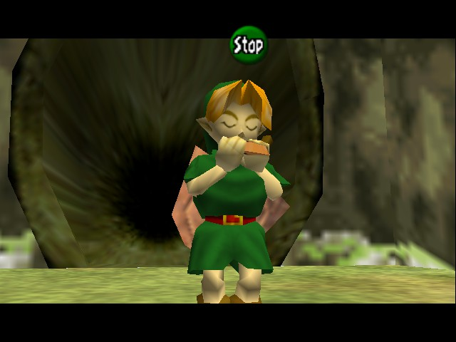 The Legend of Zelda - Ocarina of Time - Level  - ocarina - User Screenshot