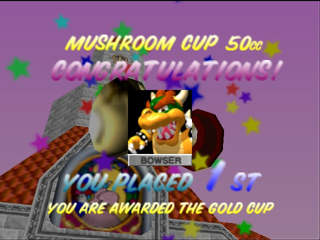 Mario Kart 64 - Misc  - yeah! - User Screenshot