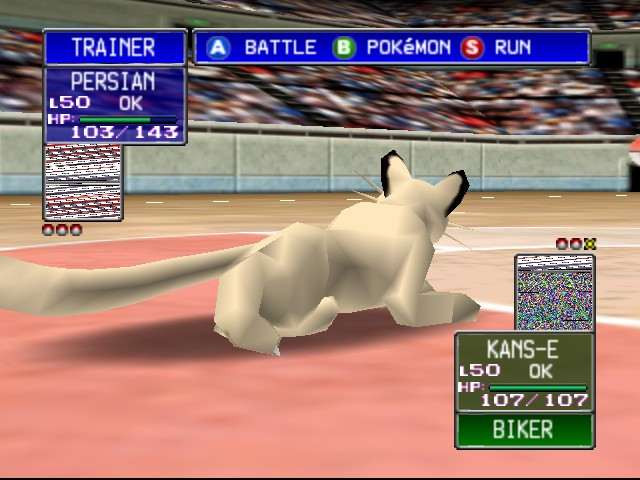 Pokemon Stadium - look!over there! is that a YARN ball? - User Screenshot