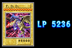 Yu-Gi-Oh! - The Sacred Cards - F.G.D. 6th time summon (enemy lp before b-d) - User Screenshot