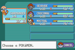 Pokemon Shiny Gold - Character Profile Team - My team before Whitney - User Screenshot