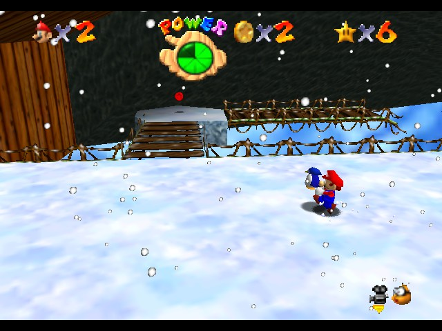 Super Mario 64 - Level  - This stupid penguin is not worth it. - User Screenshot