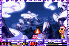 Kirby - Nightmare in Dream Land - sub boss got no health but he alive - User Screenshot