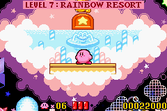 Kirby - Nightmare in Dream Land - holding his breath - User Screenshot