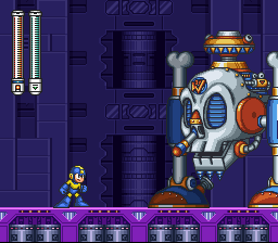 Mega Man VII - wily machine no. 7 - User Screenshot