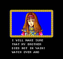Phantasy Star - Misc Alis - The first woman to start it all - User Screenshot