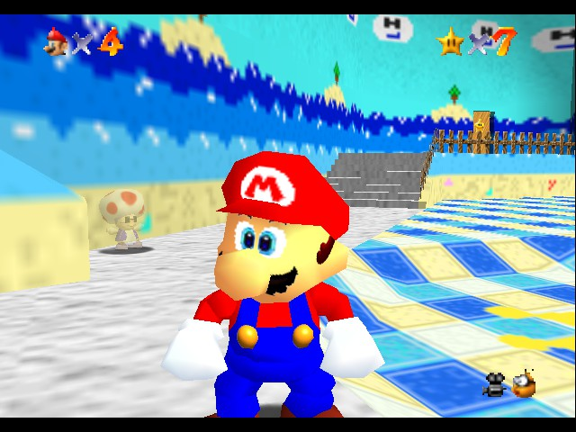 Super Mario Sunshine 64 - Its me mario - User Screenshot