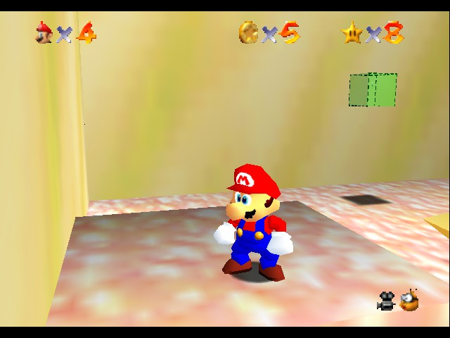 Super Mario Sunshine 64 - an invisible lift - User Screenshot
