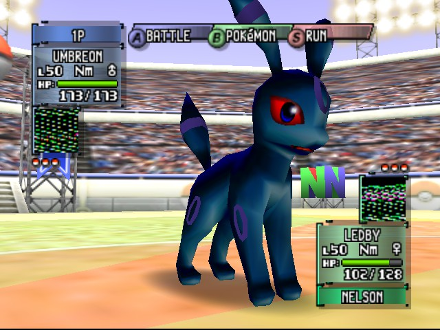 Pokemon Stadium 2 - Shiny Umbreon,like woah! - User Screenshot
