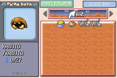 Pokemon Ash Gray (beta 3.61) - hehehe - User Screenshot