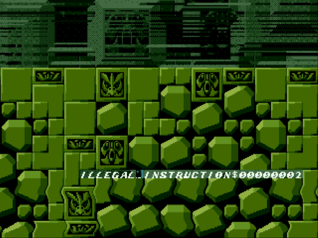 Sonic the Hedgehog - Misc Labyrinth Zone - Now comes with illegal instructions! - User Screenshot