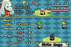 Final Fantasy Tactics Advance Anarchy - Character Profile Nu Mou White Mage Stats -  - User Screenshot