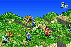 Final Fantasy Tactics Advance Anarchy - Location Mission Herb Picking Map -  - User Screenshot