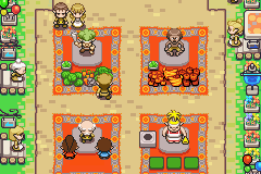 The Legend of Zelda - The Minish Cap - Location Hyrule Square - Hyrule Square - User Screenshot
